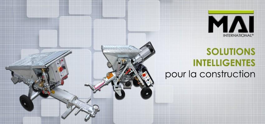 MAI International, Solutions intelligentes pour la construction