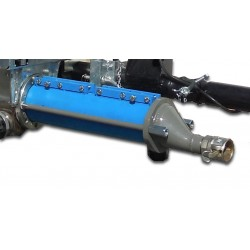 Pump body for projecting machine