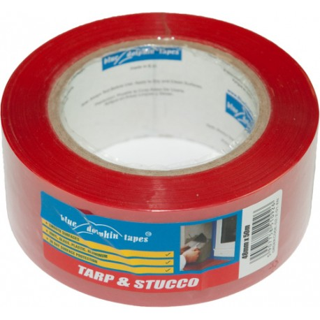 Tarp and Stucco Window Tape
