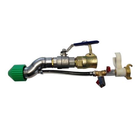 Spray gun for plaster Ø27 polypro fitting